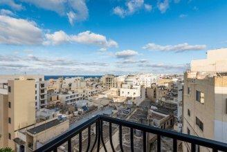 Getawaysmalta - Seashells Apartment 11 with Terrace in Bugibba