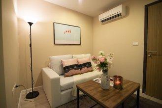 Cozy Apartment in BKK, Best for 3ppl (bkb219)