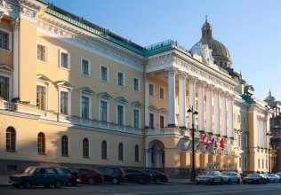 Отель Four Seasons Lion Palace St. Petersburg