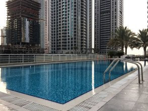 Stylish 1BR in Dubai Marina! Sleeps 3!