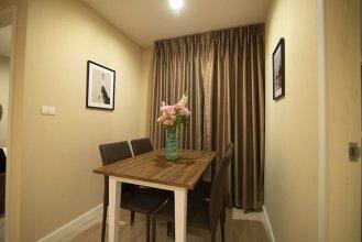 Cozy Apartment in BKK, Best for 3ppl (bkb221)