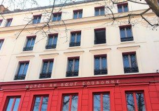 Отель Hôtel Restaurant Au Bœuf Couronné