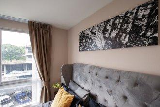 Cozy Apartment in BKK, Best for 3ppl (bkb218)