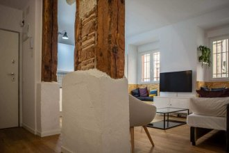 Charming & Modern 2bed in Madrid's City Center