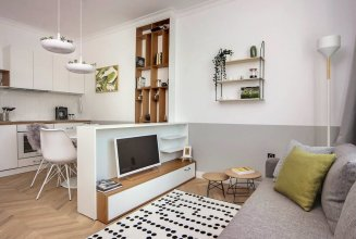 FM Luxury 1-BDR Apartment with Balcony - Cosy Home