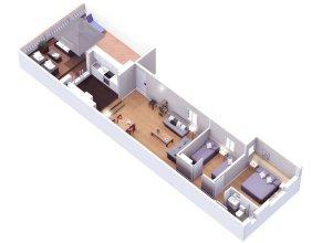 BCN Casp Rocamora Apartments