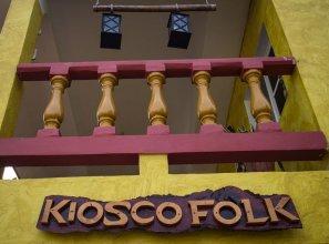 Hostel Kiosco Verde Folk Room