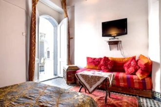 Apartment With one Bedroom in Fes El Bali, Fes, With Enclosed Garden and Wifi