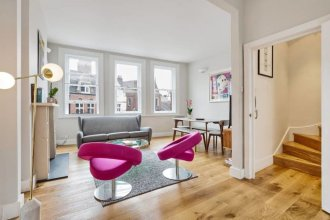 Modern & Chic 2bed Hampstead Duplex 1 min to Tube