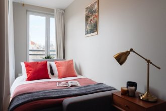 Garden-view Guest Apartment in the Cracow City Center