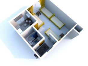 Вавилон однокомнатные апартаменты на Челюскинцев 29