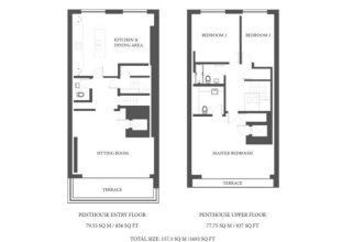 3 Bed Penthouse Apartment Next To Harrods