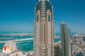 A C Pearl Holiday Homes - Sea and Palm Island View on 67th Floor