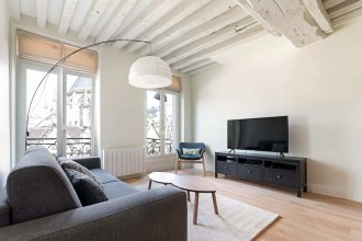 Bright and Modern Apt - 7 Mins to Notre Dame
