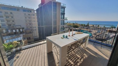 Апартаменты Design 3 Bdr Apartment Sea View - Beach Side #TL5