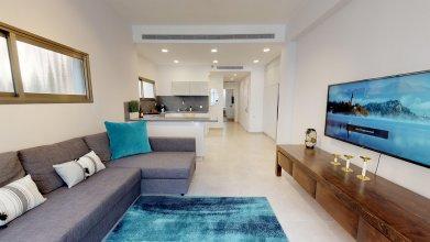 Апартаменты Nice 2BR in Hovevei Tsiyon by HolyGuest