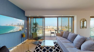 Апартаменты Authentic & Modern 3 BR Jaffa Vibe By HolyGuest