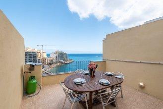 Апартаменты Spinola Bay Penthouse