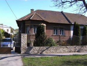 City-Haus in Budapest mit Garten