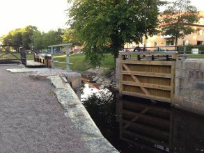 Pråmkanalens Pensionat i Karlstad