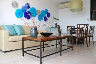 Departamento en la playa en Desarrollo Amara Cancun